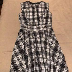 Club Monaco Plaid Dress